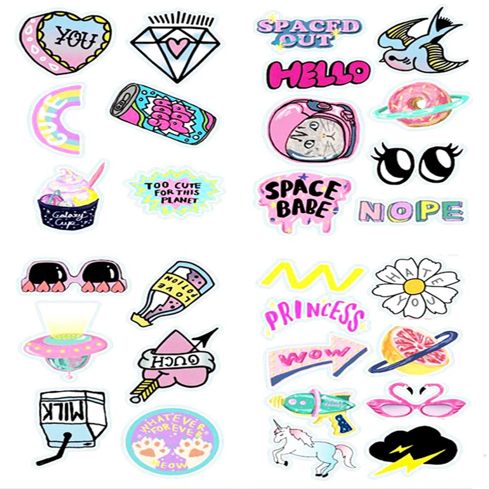 Pink cute stickers for girl sarissa girl stickers skateboard motorcycle bicycle waterproof vinyl decals cool graffiti stickers pink cute girl stickers