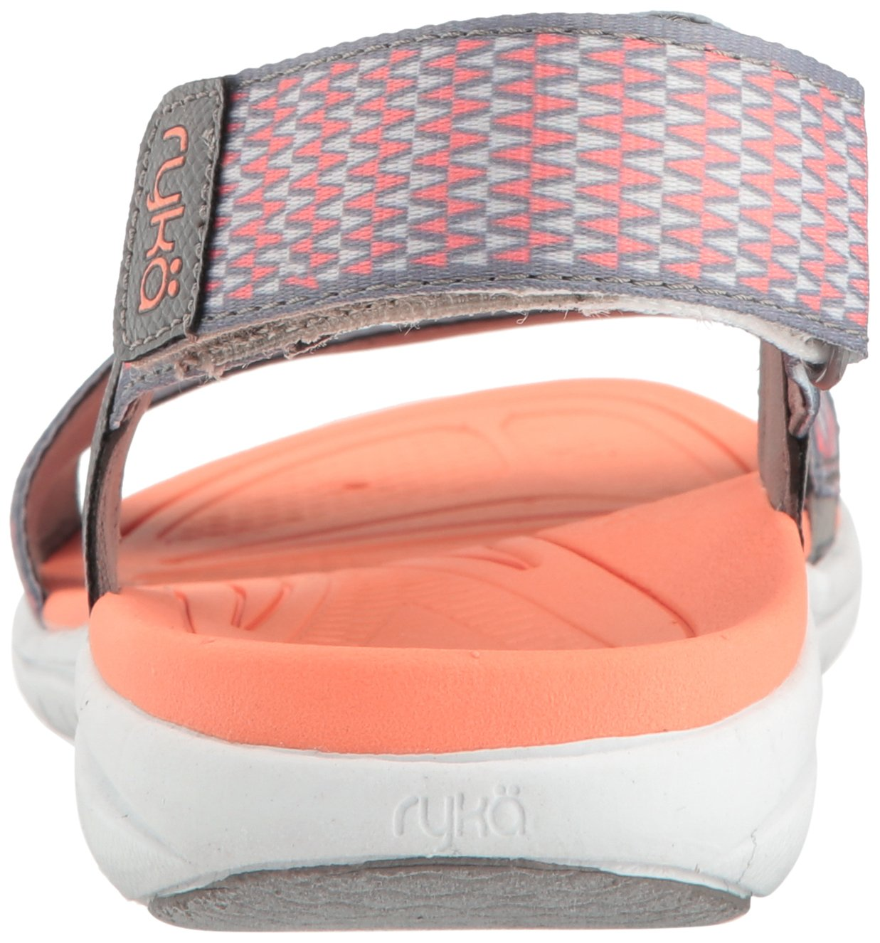 Ryka Women's Belmar Athletic Sandal B01KWH5SUM 8.5 B(M) US|Grey/Coral