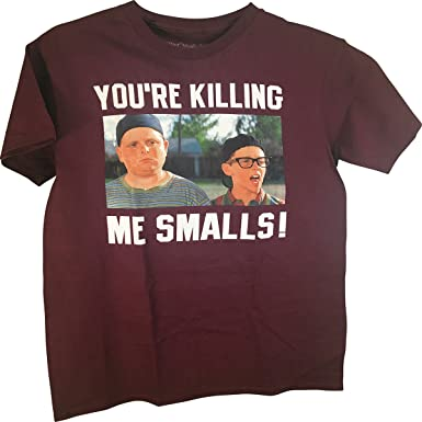 "f1db888cf The Sandlot Ham ""You're Killing Me Smalls"" Photo Real Adult T"