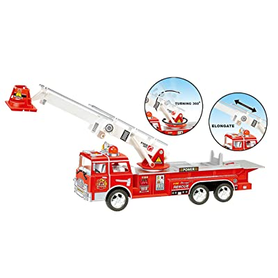 Fire Truck Toys For 3 4 5 Year Old Boys Girls Kids Toy Best Bump