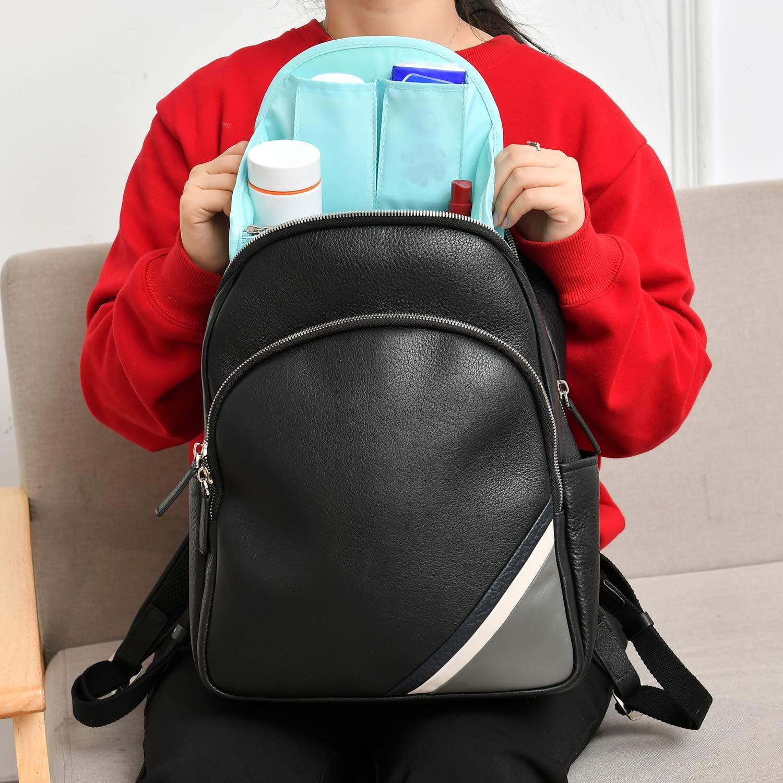 Organizer Tasche Gro/ß Genug f/ür A4-Papier Kleine Gr/ö/ße Taschenorganizer f/ür Rucksack Nylon Bag in Bag Organizer AA BeeViuc Taschenorganizer