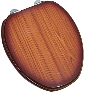Imperial Wooden Toilet Seat Cover Compressed Wood 17 X 15 X 1 5