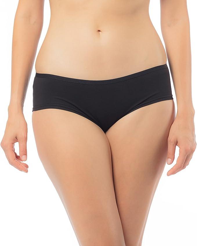 Libella® Braguitas Culotte (Pack de 6) Algodón para Mujer Bragas ...