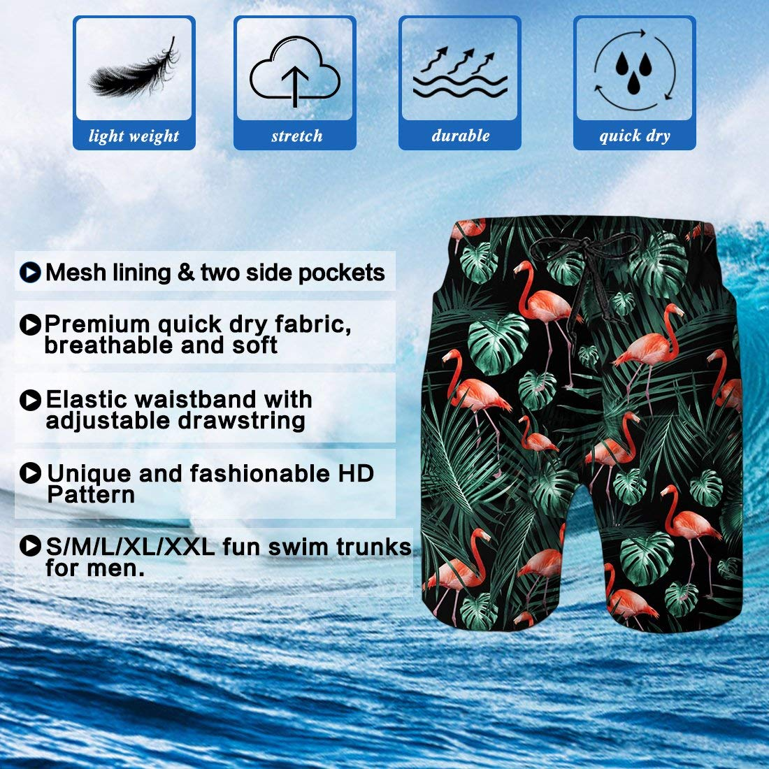 Outdoor Short Pants Beach Accessories Kurabam Beach Shorts Sonic Beach Lounge Shorts for Men Boys