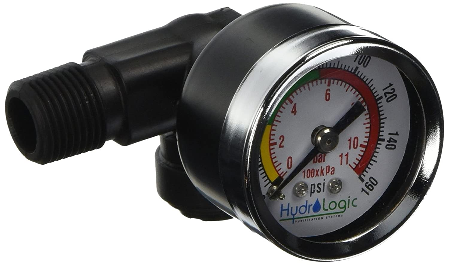 HydroLogic stealthRO 100 200 Pressure Gauge Fitting Assembly