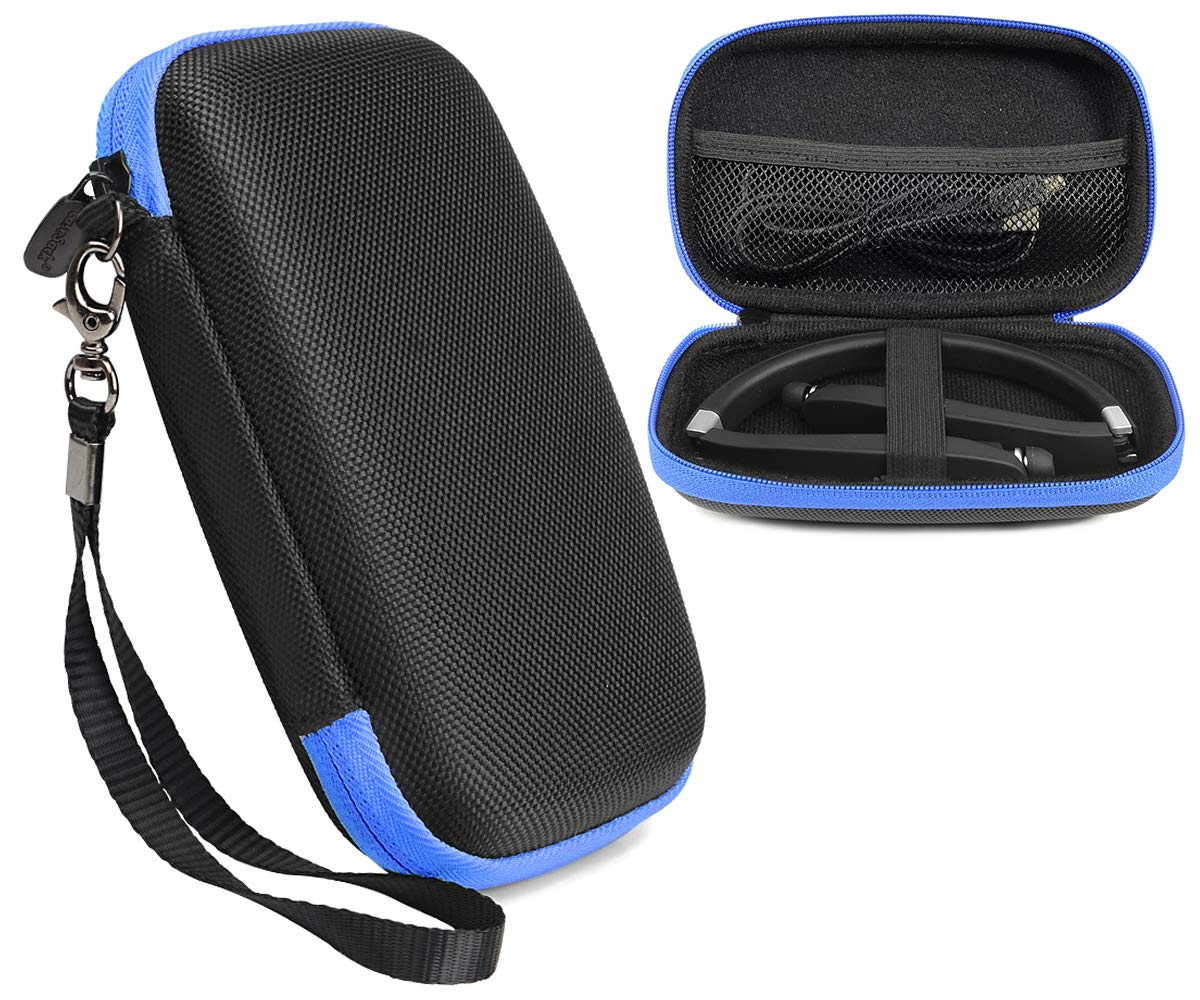 CaseSack トラベルケース ワイヤレス折りたたみ式スポーツネックバンド Bluetoothヘッドフォン NEXGADGET、EGRD、HOBEST、Moche、Fetta、dostyle、Senbowe、Levin、Dylan、pkman、Bestyoyoyo、ATC、VICTA、AVIVANTなど (ブラック)   B077NWRMS8