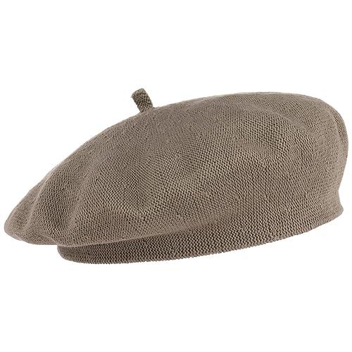 Biskaya Berretto Basco in Cotone Lierys cotone berretto basco Taglia unica - beige scuro