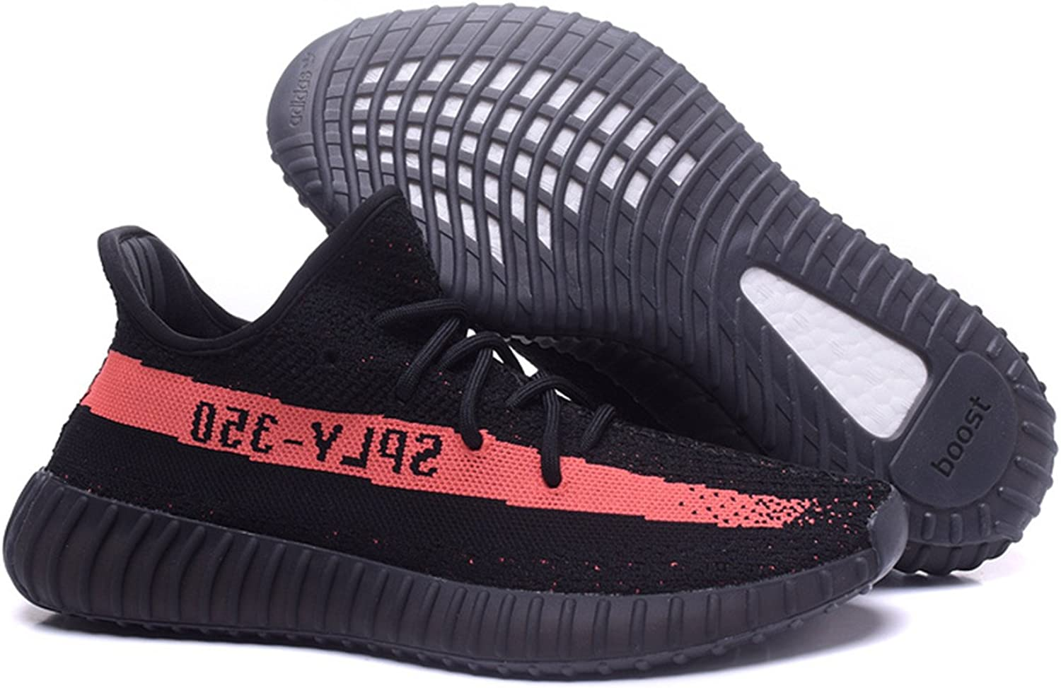 adidas yeezy 350 boost v2 black pink shoes