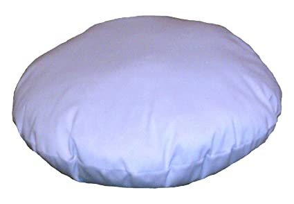 Amazon Round Pillow Insert Form 40 Diameter Home Kitchen Enchanting How To Cover A Round Pillow Form