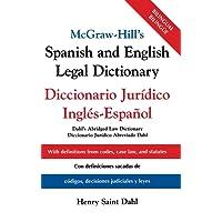 Mh Spanish & English Legal Dictiona