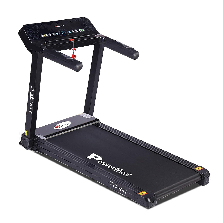 PowerMax Fitness 1.5HP (3HP Peak) Pre-installed Motorized Treadmill
