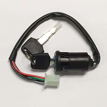 Amazon.com: Key Ignition switch For Chinese Quad ATV 50cc ...