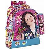 Soy Luna 611626538 Mochila Escolar, Color Rosa