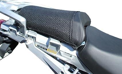 Cubierta TRIBOSEAT para Asiento Antideslizante Accesorio Personalizado Negro Compatible con BMW R1200GS 2004-2012