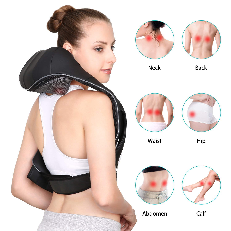 Naipo MGS-321 Nackenmassagegerät Anwendungsbereiche