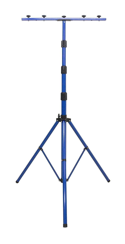 as–Schwabe 46650 Trépied pour projecteur LED, projecteur halogène, projecteur de chantier, etc. Réglable en hauteur jusqu'à 1,80m, jaune etc. Réglable en hauteur jusqu'à 1 as - Schwabe
