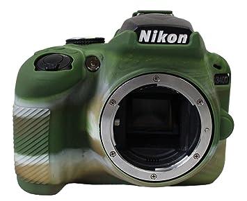 Funda de Silicona Carcasa de Silicona para cámara Nikon ...