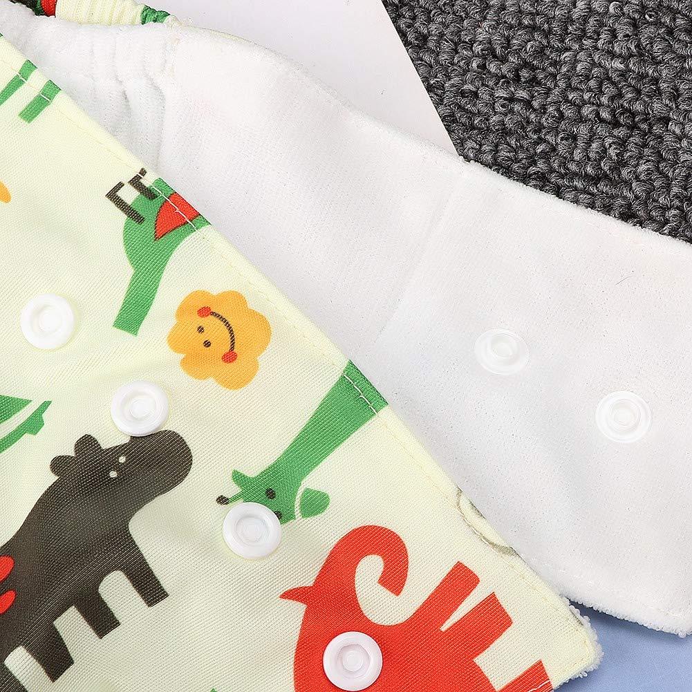 verstellbare waschbare wiederverwendbare Baby Traning Windelhose f/ür Baby M/ädchen Jungen Dreieck Baby Stoffwindeln