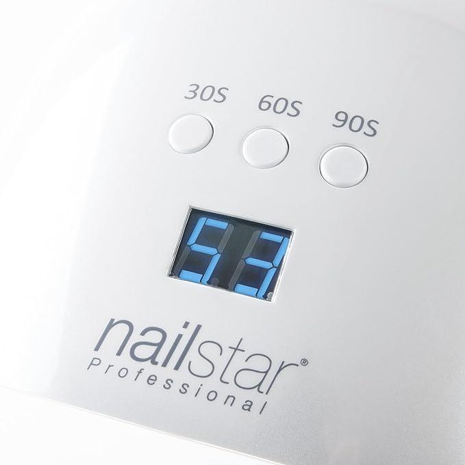 NailStar® Professional UV and LED Nail Lamp and Nail Dryer with 3 ...
