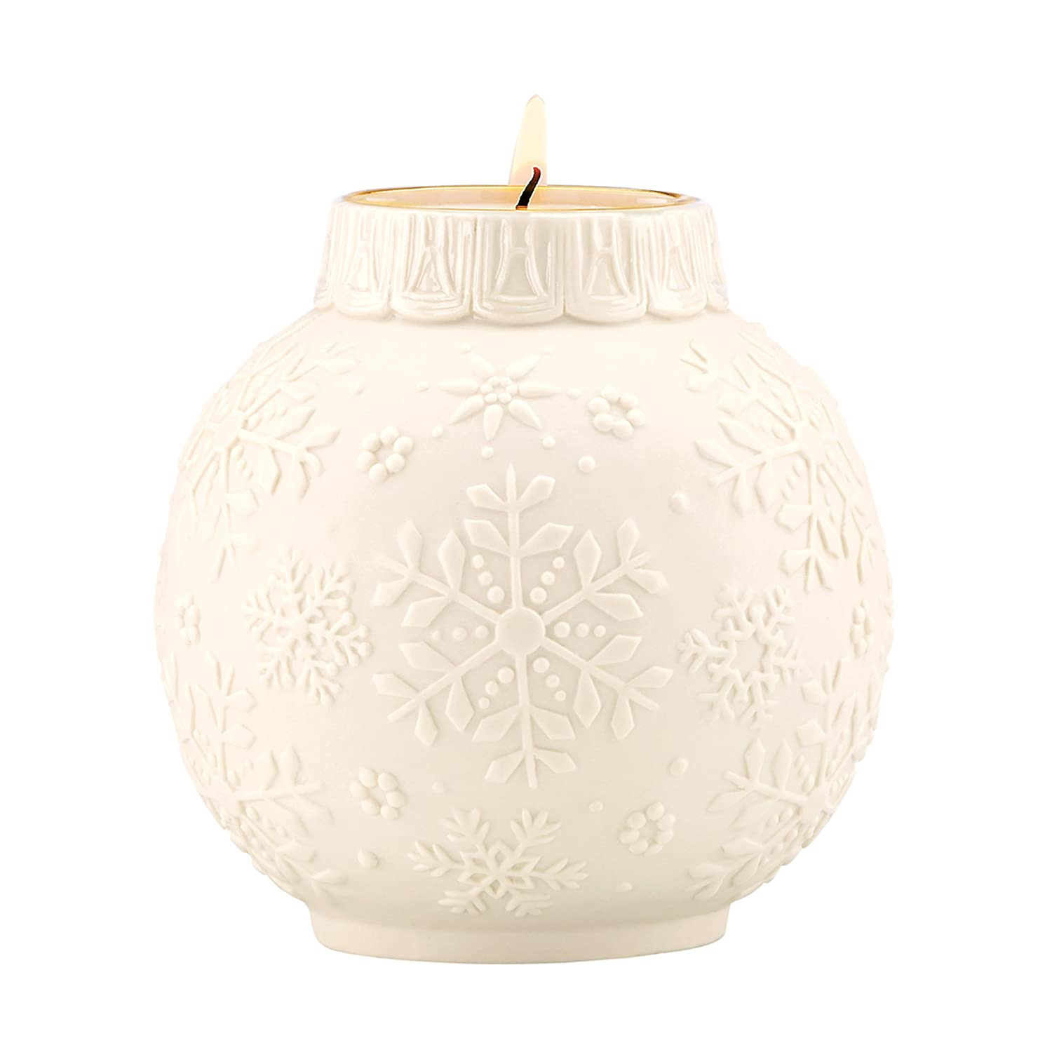 Snowflake Scrollwork Votive Candle Holder