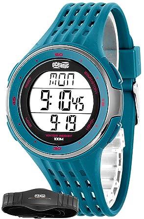 Unisex Oceanic Entrenamiento de reloj de pulsera con correa de pecho pulsómetro + wr100 m, ohr31/3: Amazon.es: Relojes
