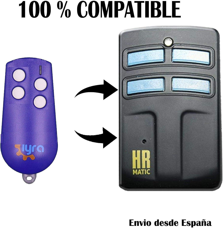 Mando duplicador HR Matic 2 Compatible con mandos Easy IN EASYIN