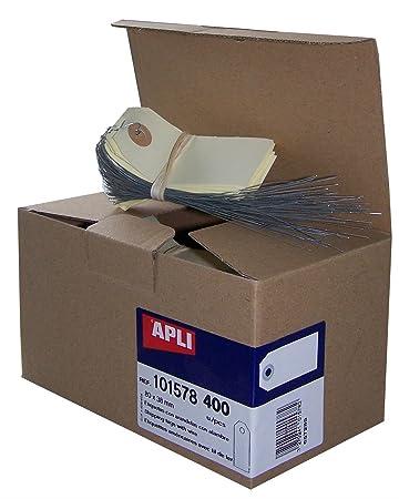 agipa 101578 Gepäckanhänger, neutral mit Draht: Amazon.de ...