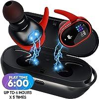$47 » [Upgraded 2020] True Wireless Earbuds - 36 Hours Total - Bluetooth Earphones 5.0, IPX8…