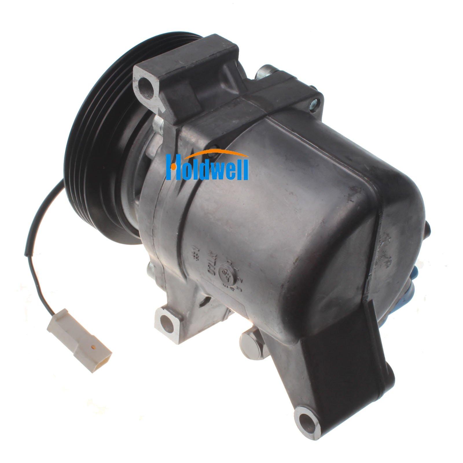 Holdwell Auto AC Compressor 95201-77GB2 9520177GB2 for Suzuki Jimny Seiko Seiki SS07LK10 by Holdwell (Image #6)