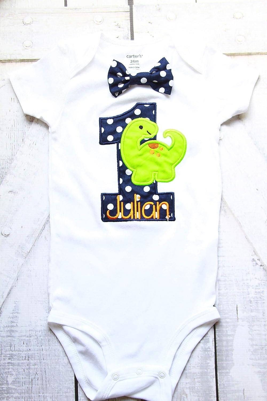 Boy first birthday Navy Polka Dot ONE First birthday Polka dot baby boy cake smash one year outfit birthday outfit birthday baby boy