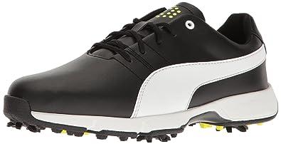 24e3104410b Puma Golf Unisex Titantour Cleated JR. Golf Shoe