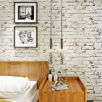 d6b538bcf49c9 HANMERO® murales pared papel pintado imitación ladrillo piedras no tejido  papel de pared dormitorios salón hotel fondo de TV