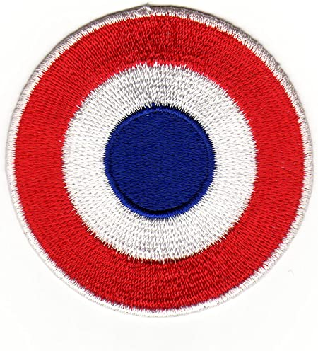 Cible Bulls Eye Coque Vespa Scooter-/à coudre-Badge//Iron On Patch environ 6,2 x 6,2 cm