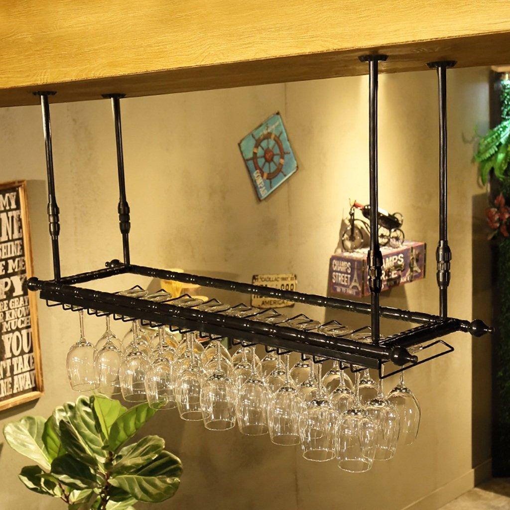 Portabottiglie Portabottiglie, porta bicchiere da vino, portabottiglie, portabottiglie, porta bicchieri in vetro, porta bicchieri in vetro ( dimensioni : 60cm ) WRR