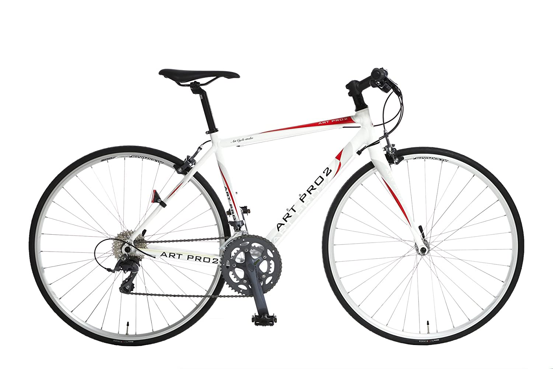 Artcyclestudio(アートサイクルスタジオ) クロスバイク a670f B01BR9BOPM 500|ホワイト ホワイト 500