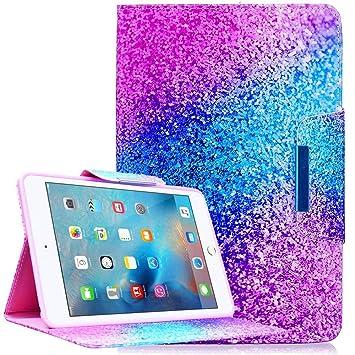 Funda iPad Mini 1 / Mini 2 / Mini 3 / Mini 4 [Pluma libre del tacto], Billionn Ultra Delgada Protective Cover Stand Función para Apple iPad Mini 1 / ...