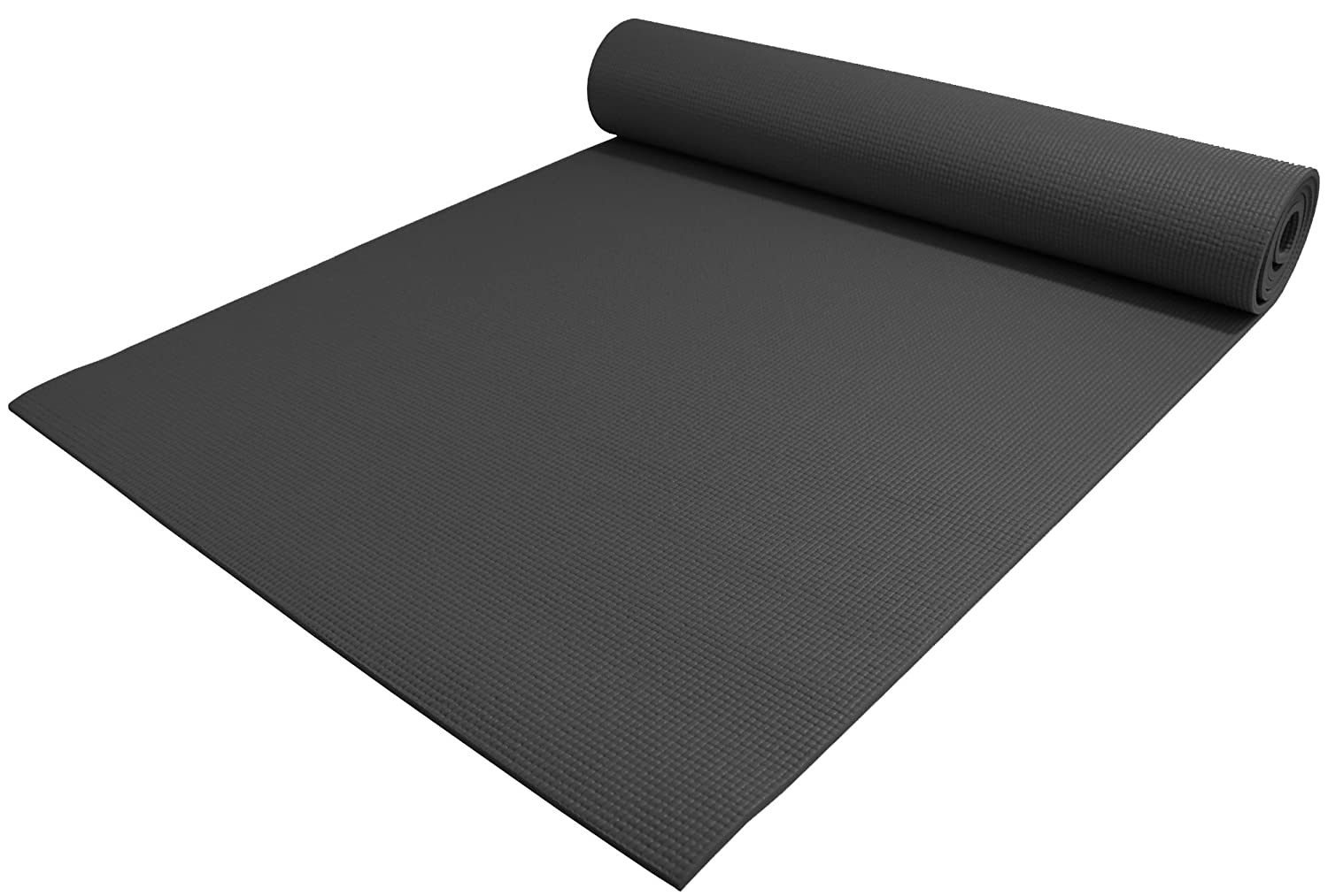 "YogaAccessories 1/4"" Extra Thick Deluxe Yoga Mat"