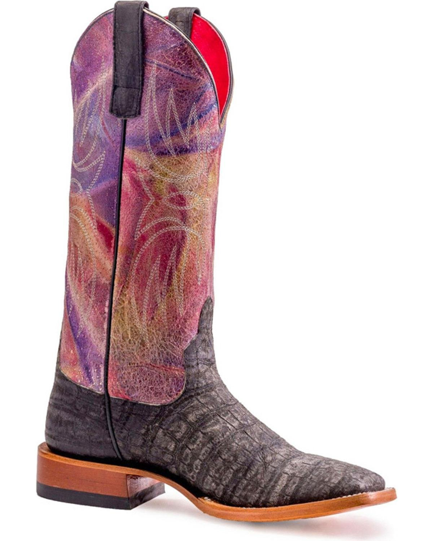 Macie Bean Women's Love At First Bite Boot Square Toe Black 8.5 M