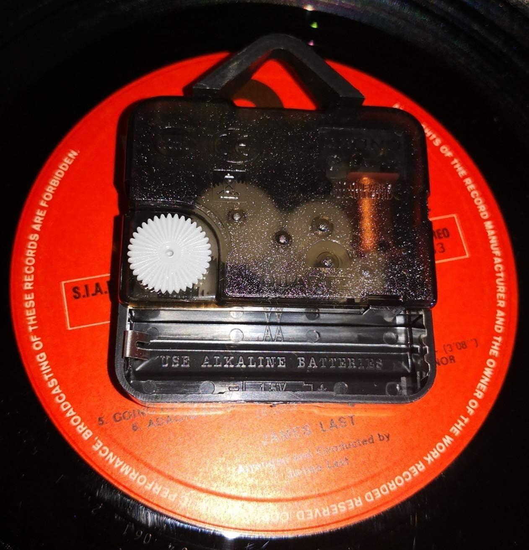 Gothic Steampunk Instant Karma Clocks Horloge Murale en Vinyle Id/ée Cadeau 31 Engrenages
