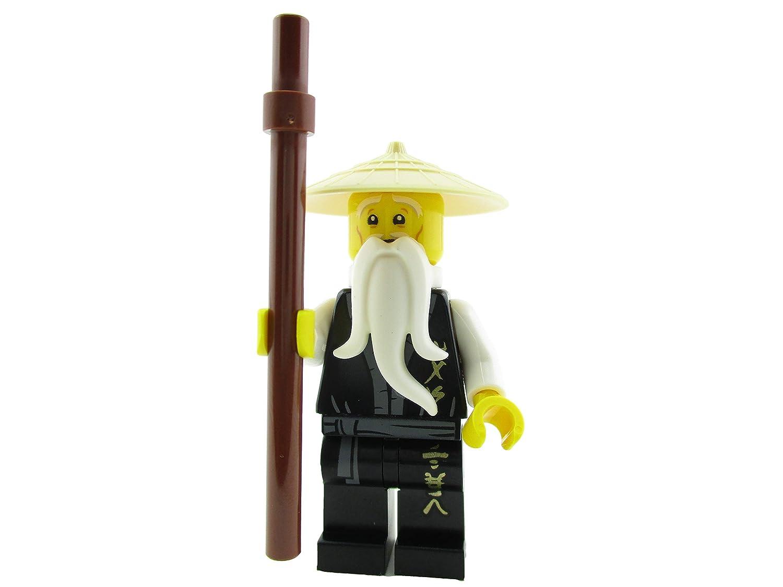 Amazon.com: LEGO Ninjago Ninja Master Sensei Wu Minifigure ...