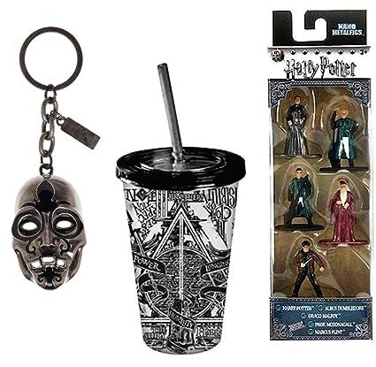 Amazon.com: Jada Death Harry Potter Mini Figura Nano Metal ...