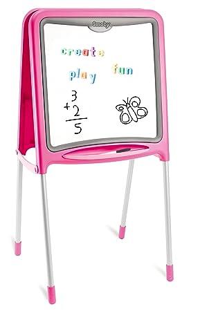 Smoby - Juguete pizarra para niñas, color rosa (28109 ...