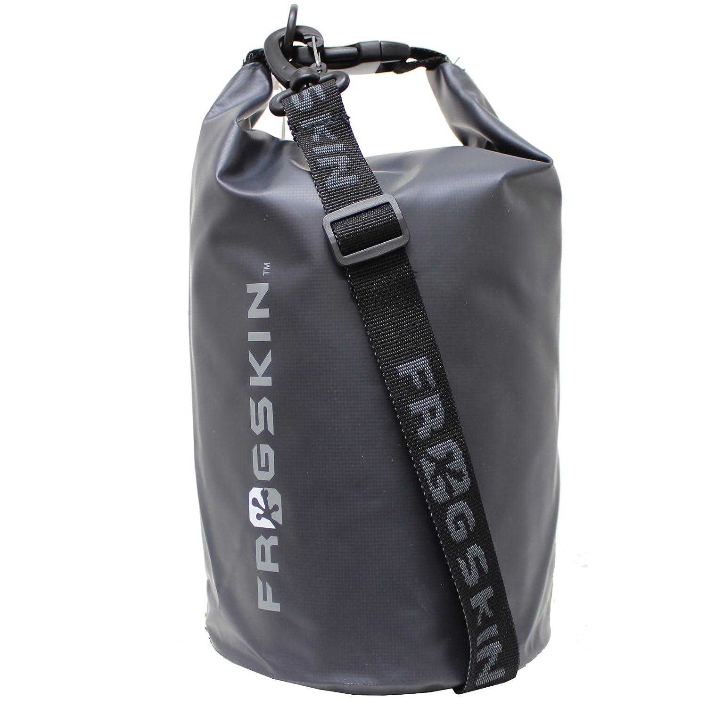Frogskin防水パンクTear耐性インドア/アウトドアドライバッグとバックパックをPhones Gear Travel B075B73HTT 18L Back Pack|ダークグレー ダークグレー 18L Back Pack