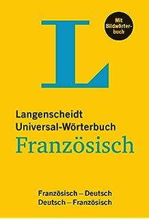 Langenscheidt Universal-Wörterbuch Französisch - mit Bildwörterbuch   Französisch-Deutsch Deutsch-Französisch c724aaf3f3