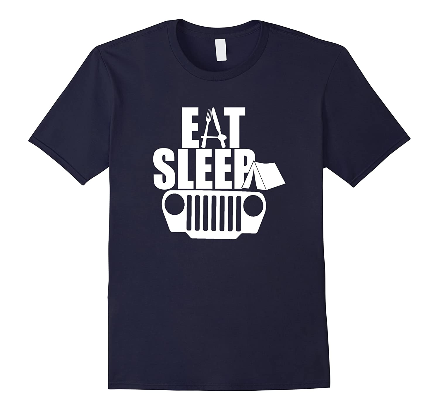 Eat Sleep Jeep Shirt Jeep Family Jeep Lovers Tshirt-RT