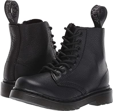 92924a7c4557 Dr. Martens Kid's Collection Unisex 1460 Pascal Mono Boot (Toddler) Black  Virginia 6