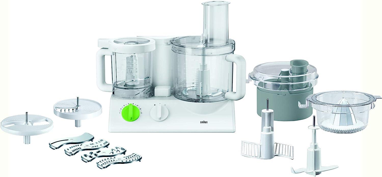 Braun FX 3030 - Robot de cocina (Verde, Color blanco, De plástico): Amazon.es: Informática