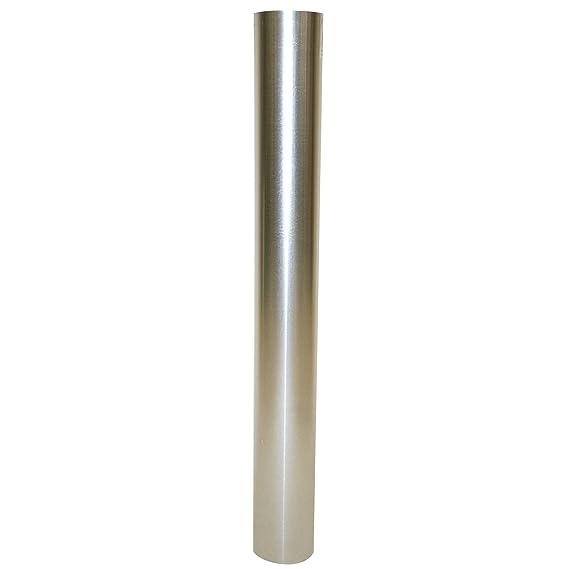 Kamino - Flam - Tubo para chimenea (150 mm/longitud 1000 mm), Tubo para estufa de leña, Conducto de humos - acero resistente a altas temperaturas - durable, ...