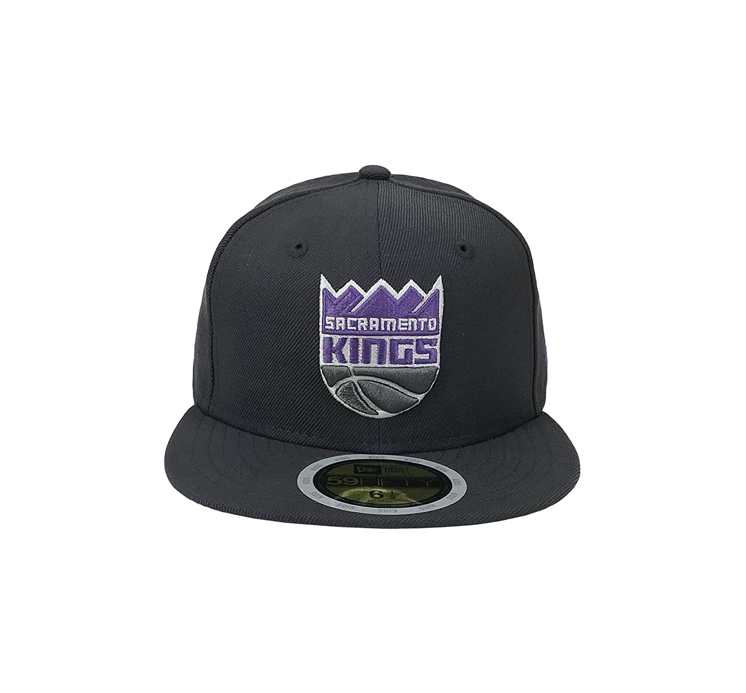 wholesale dealer d288d 2d2cd ... shop amazon new era 59fifty kids hat nba sacramento kings classic wool  charcoal gray fitted cap