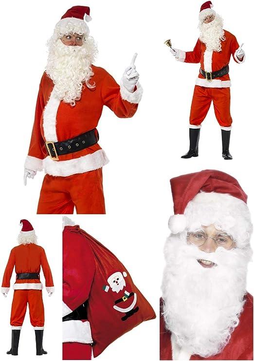 Fancy Dress World 24497 655 - Disfraz de Papá Noel para Disfraz de ...